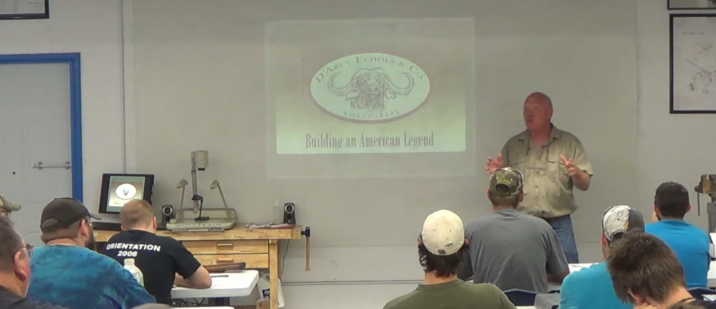 D'Arcy Echols Gunsmith Presentation at Colorado School of Trades