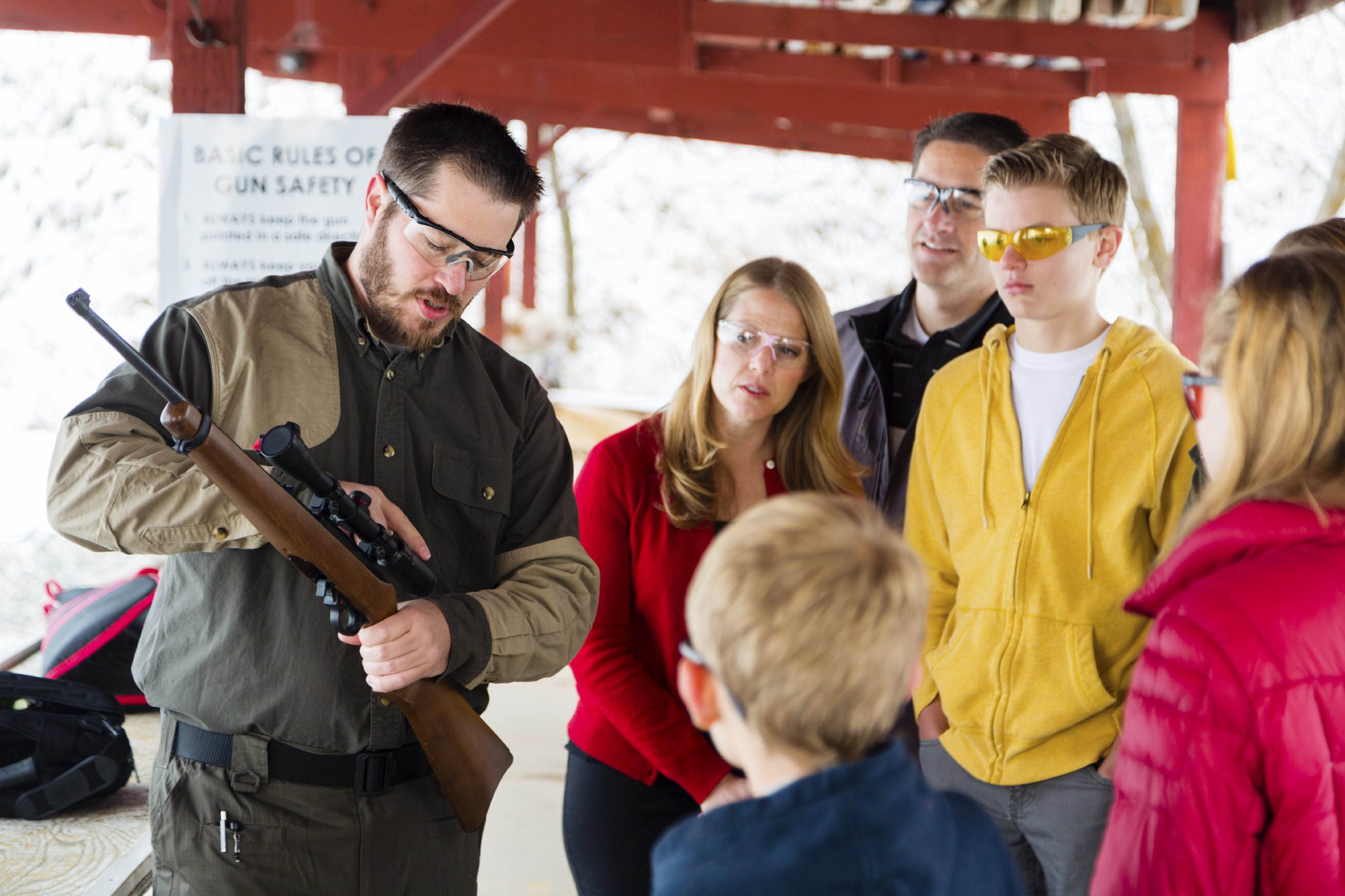 Teaching Armed Self Defense To Your Family