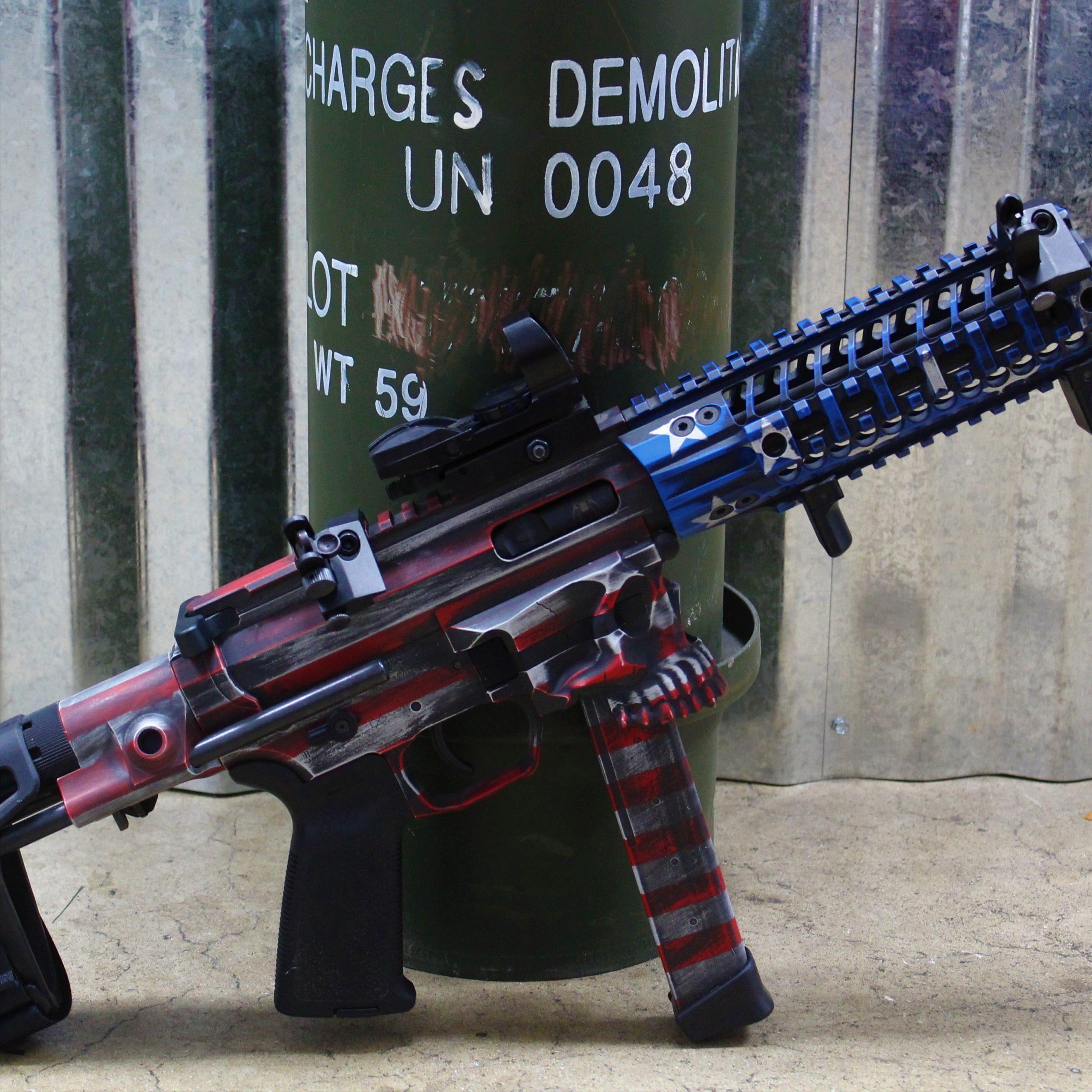 Decorative AR pistol